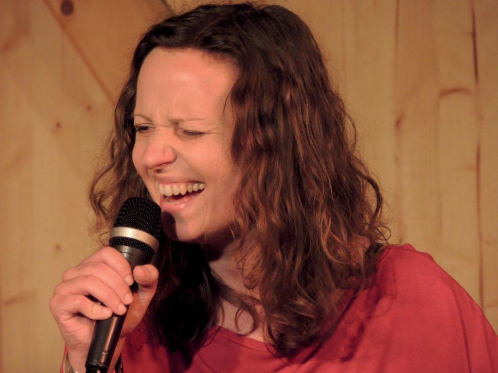 Lilly Kern im Kulturfleckerl Eßling